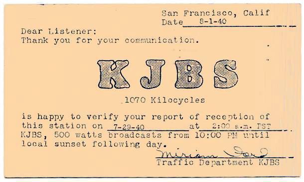 kjbs_qsl-card_1940