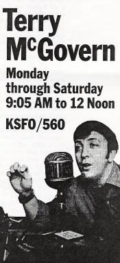 KSFO McGovern Ad (Image)