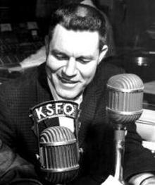Lon Simmons (KSFO Photo, Circa 1960)