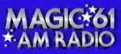 KFRC Magic 61 Logo (1986)