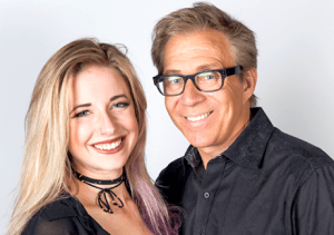 Brian Sussman and Katie Green (KSFO Photo
