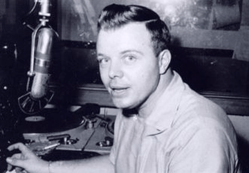 Don Keyes at KLIF Radio (Photo)