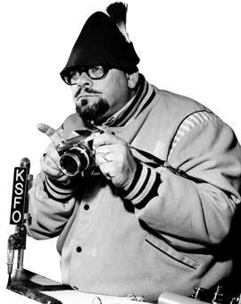 Jazzbo Collins with camera (Photo)