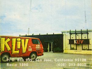 KLIV Business Card (Image)
