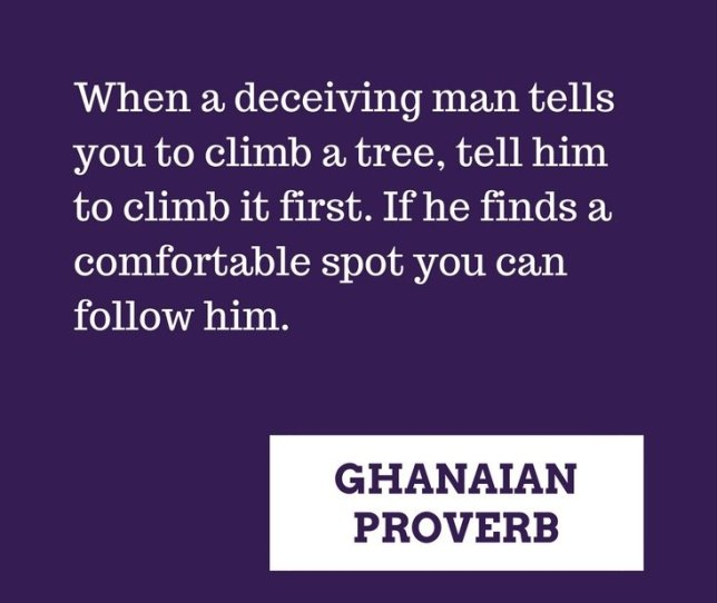 156 Selected Ghanaian Proverbs To Read Right Now