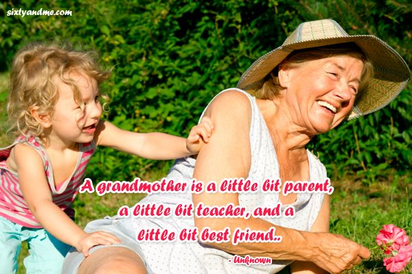 Quotes about Grandma: Grandmother is everything