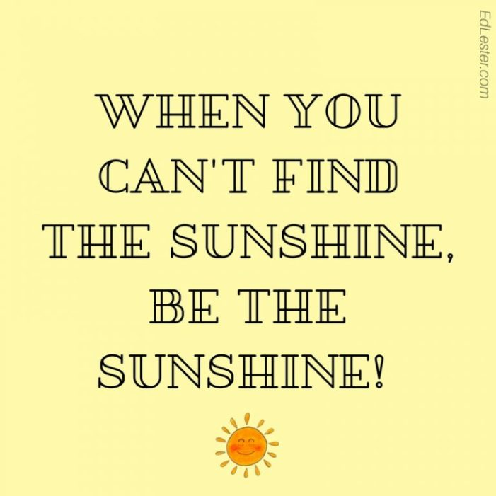 The Best Short Positive Quotes with Image Let be Sunshine