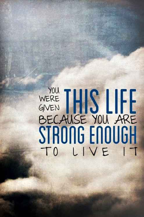Quotes And Images Custom 200 Short Inspirational Quotes About Strength & Life Exclusive