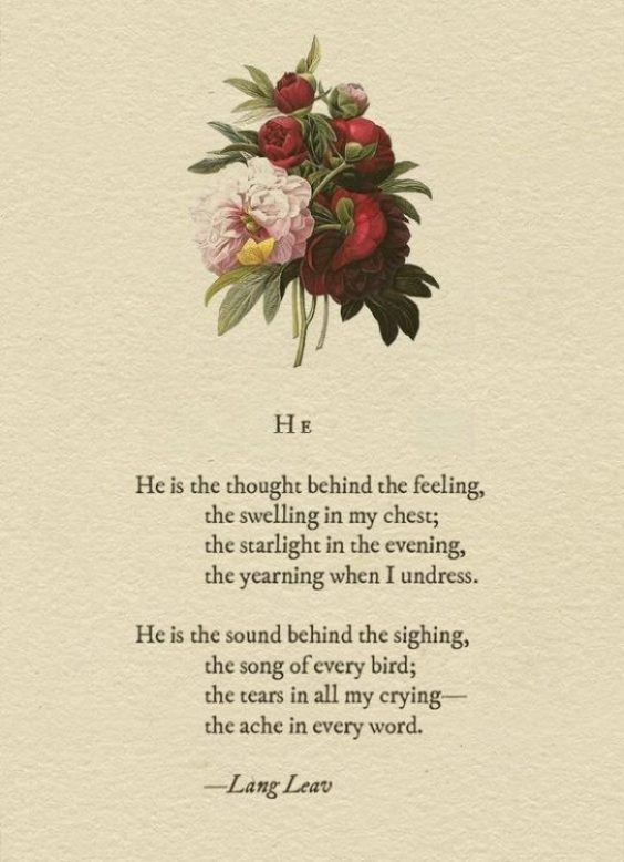 sweet love poems for him that will make him cry