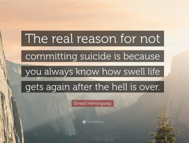 60 Profound Suicide Awareness Quotes That You Have To Know BayArt Unique Anti Suicide Quotes