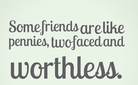 fake friend quotes images