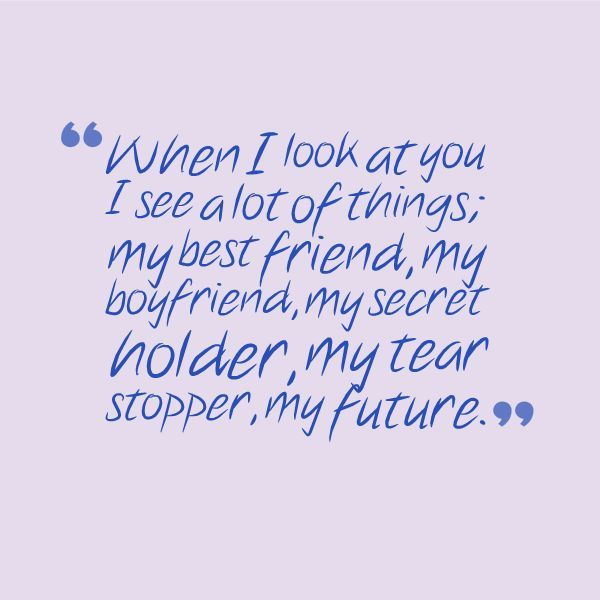 Short sweet quotes for boyfriend