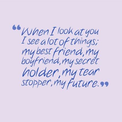 quotes about your boyfriend
