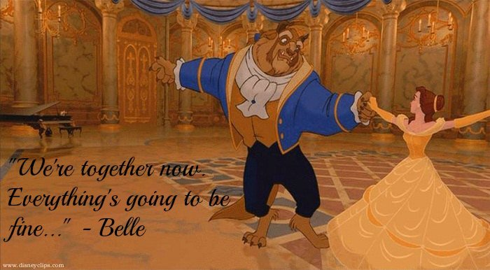 Beauty And The Beast Famous Quotes Wwwpicswecom