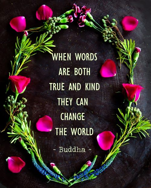 Buddha Quotes On Change And Kindness. U201c