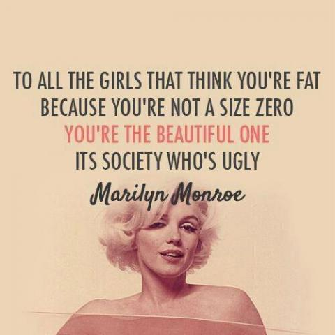 marilyn monroe quotes about beauty