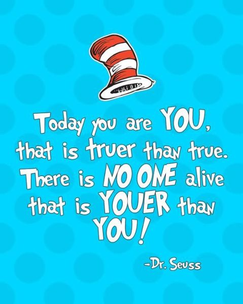 short dr seuss quotes