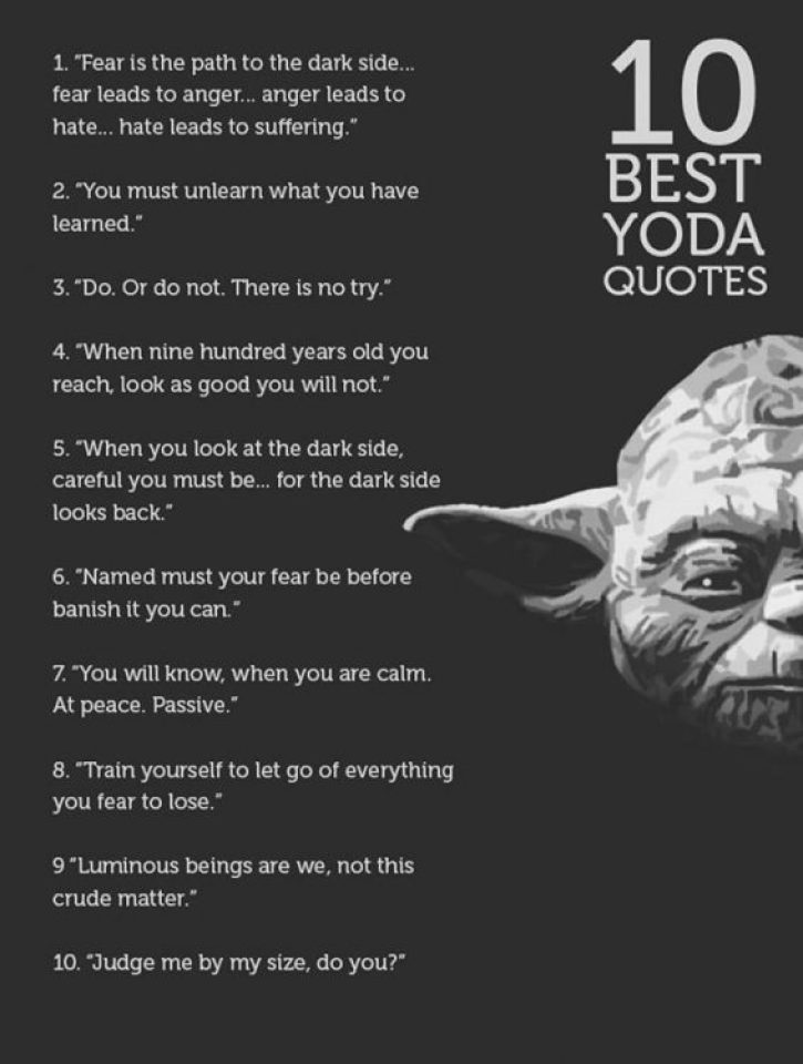 100 Greatest Yoda Quotes For Massive Growth Bayart