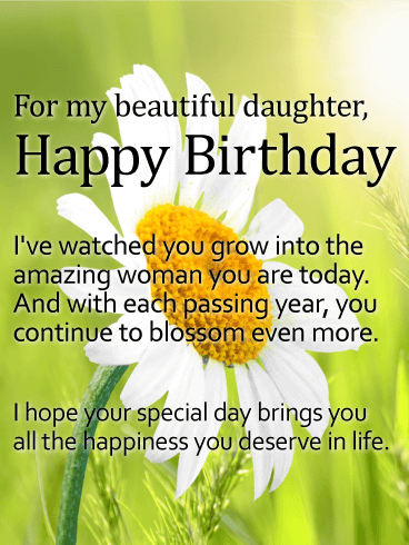 Birthday Quotes For Daughter | 187 Special Happy Birthday Daughter Wishes Quotes Bayart