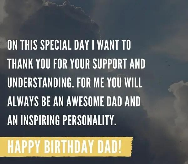 happy birthday to my dad