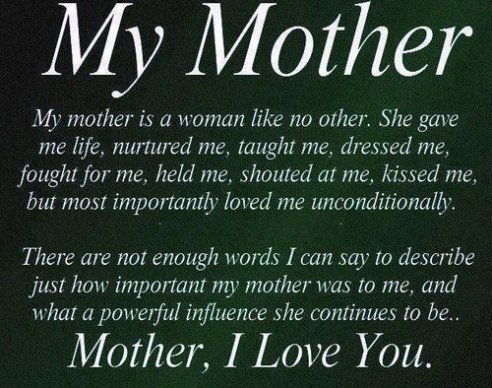 Love Mom Quotes Unique 48 Of The Most Beautiful Mom Quotes I Love You Message BayArt