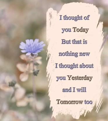 Thinking Of You Quotes Amazing 48 Touching Thinking Of You Quotes That Insanely Creative BayArt
