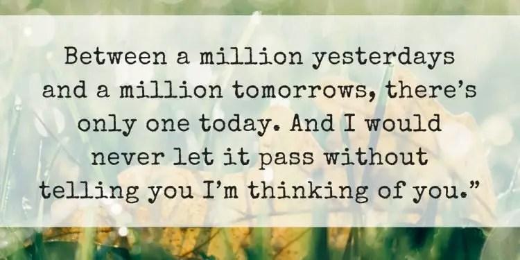 Image of: Motivational Thoughts Bayart 150 Touching Thinking Of You Quotes That Insanely Creative Bayart