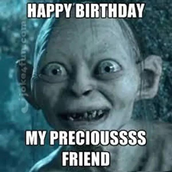 happy birthday friend meme