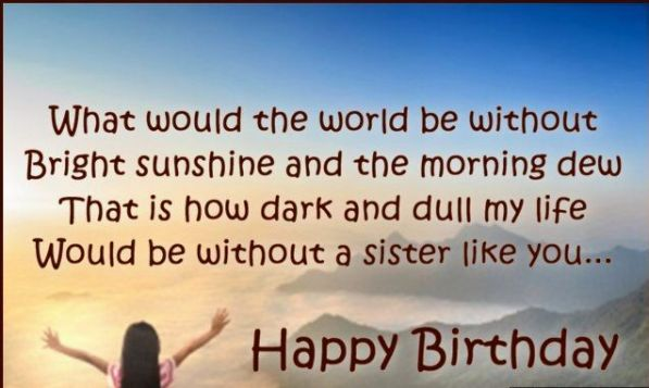 Top 212 Ultimate Happy Birthday Sister Wishes And Quotes Bayart