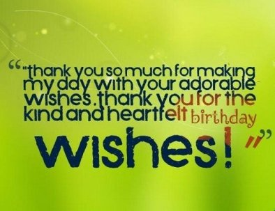 Top 123 Ways To Thank You For Birthday Wishes Messages Bayart
