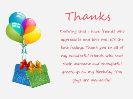 Top 123 ways to thank you for birthday wishes messages bayart thanks for birthday wishes m4hsunfo