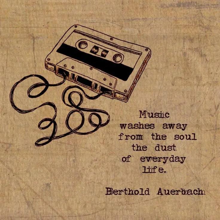 Best Music Quotes Amazing 48 GENIUS Music Quotes To Brighten Your Soul BayArt