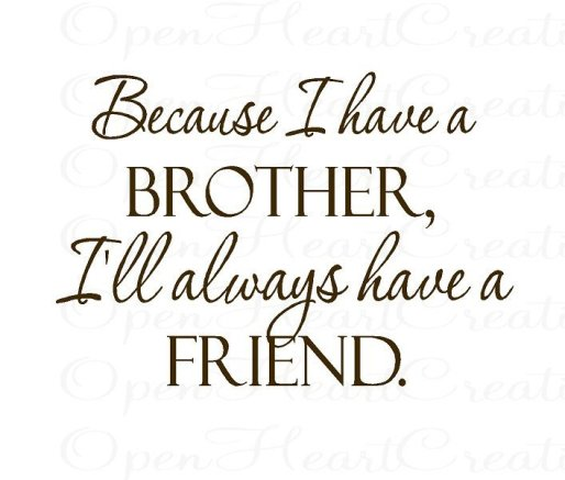 brother love quotes