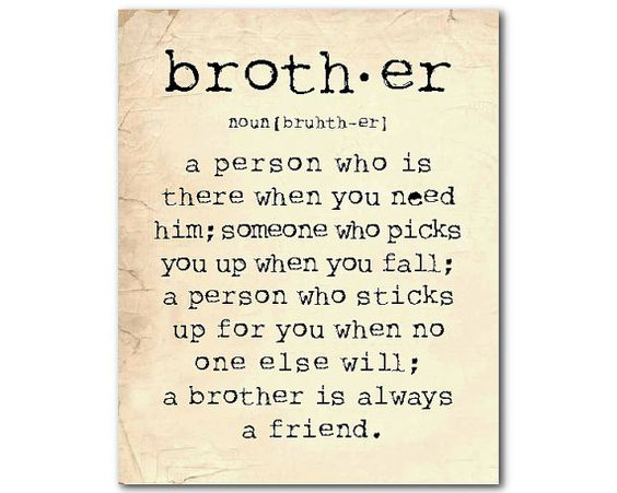 sisters love for her brother quotes