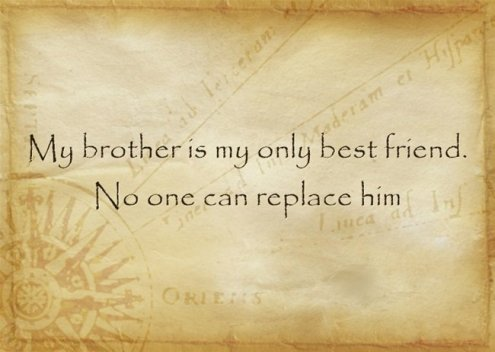 caption for brothers