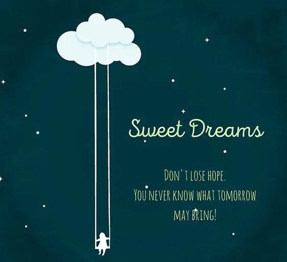 night sweet message