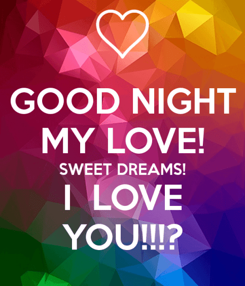 60 UNFORGETTABLE Good Night My Love Text Messages BayArt Awesome Bbe I Love You