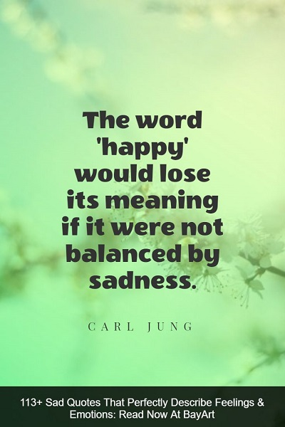 profound sad quotes about life