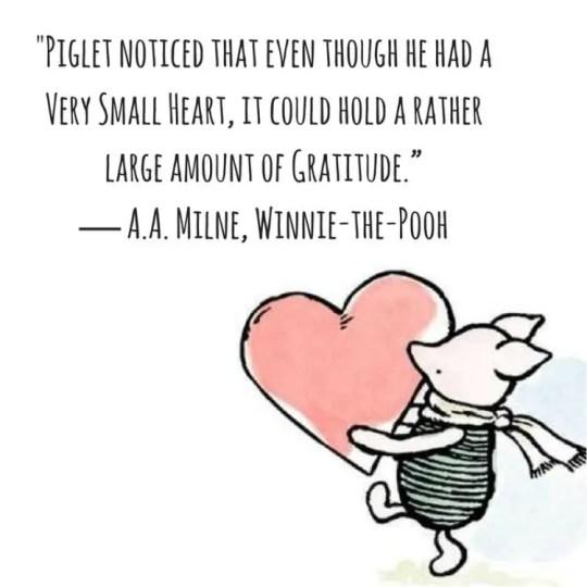 winnie the pooh gratitude quotes