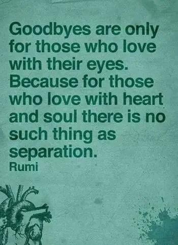 goodbye quotes love