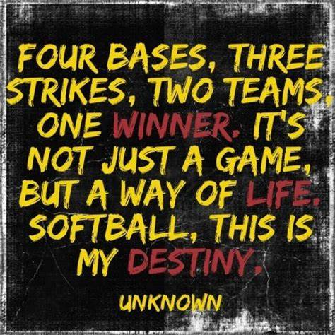 Softball Quotes | 95 Shocking Softball Quotes That Will Leave You Speechless Bayart