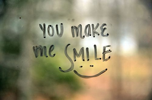 you make me happy you make me smile