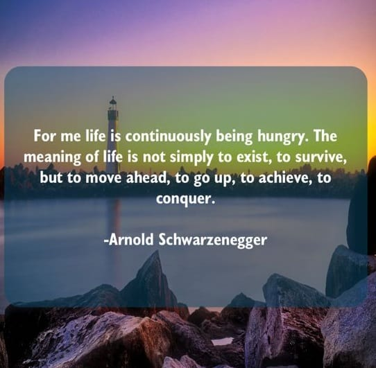 arnold schwarzenegger best quotes