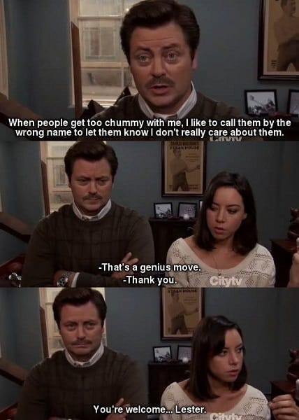 clever ron swanson quotes
