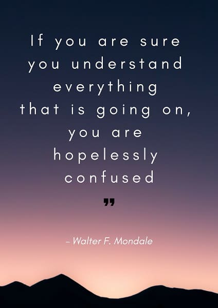 confused quotes