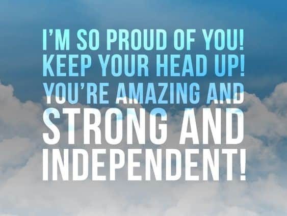 motivating keep your head up quotes