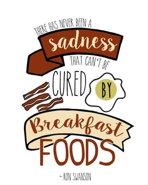 ron swanson quotes breakfast