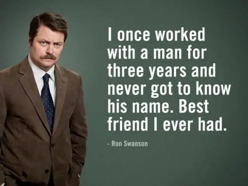 top ron swanson quotes