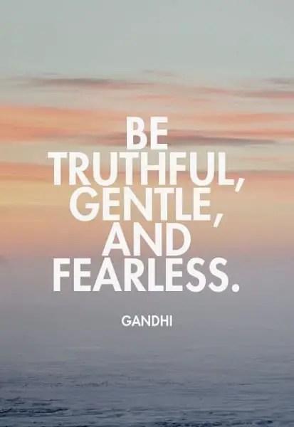 gandhi's quotes