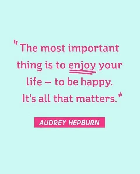 audrey hepburn quotes inspirational